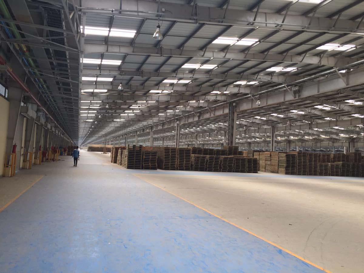 Global industries vadodara roofing sheet roofing for Building a mezzanine floor